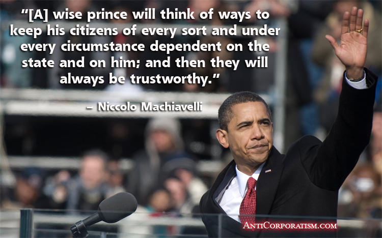 Democrat party and niccolo machiavelli