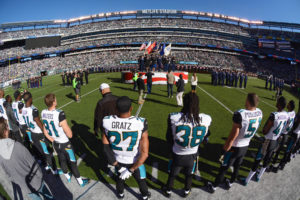 NFLTakeAKnee and diminish American values