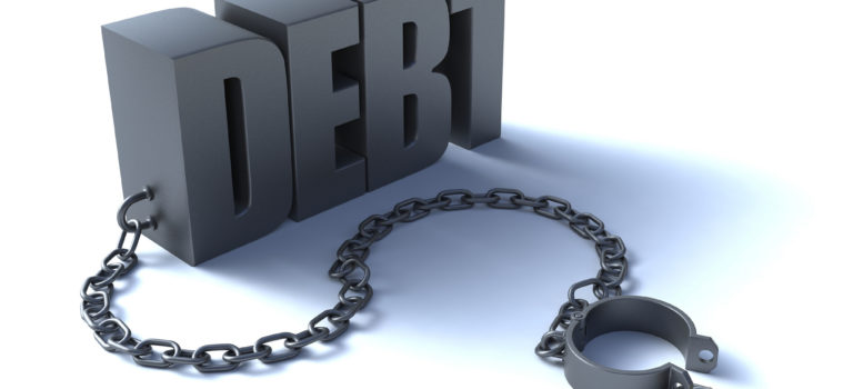 debt image from Chris Potter of Flickr